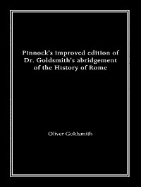 Cover Pinnock's Improved Edition of Dr. Goldsmith's History of Rome