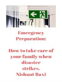 Cover Emergency Preparation