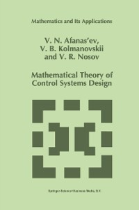 Cover Mathematical Theory of Control Systems Design