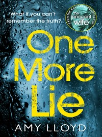 Cover One More Lie