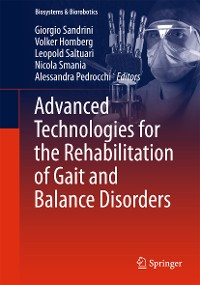Cover Advanced Technologies for the Rehabilitation of Gait and Balance Disorders