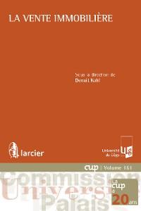 Cover La vente immobilière