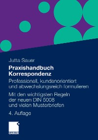 Cover Praxishandbuch Korrespondenz