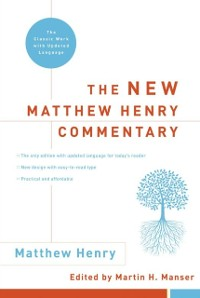 Cover New Matthew Henry Commentary