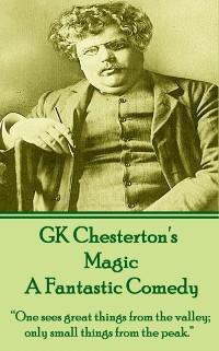 Cover Magic, A Fantastic Comedy