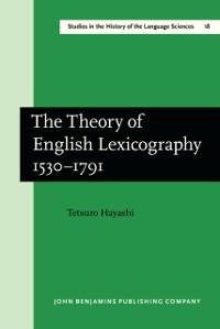 Cover Theory of English Lexicography 1530-1791