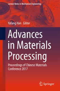 Cover Advances in Materials Processing