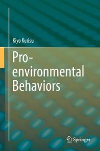 Cover Pro-environmental Behaviors
