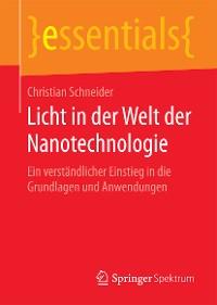 Cover Licht in der Welt der Nanotechnologie