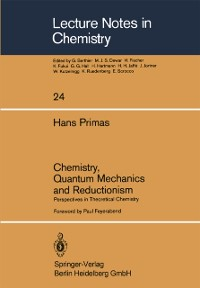 Cover Chemistry, Quantum Mechanics and Reductionism