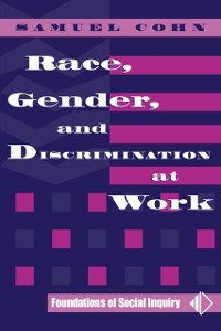 Cover Race, Gender, And Discrimination At Work