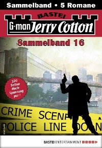Cover Jerry Cotton Sammelband 16 - Krimi-Serie