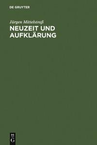 Cover Neuzeit und Aufklärung