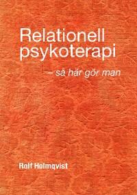 Cover Relationell psykoterapi - så gör man