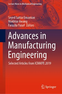 Cover Advances in Manufacturing Engineering