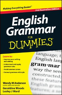 Cover English Grammar For Dummies, 2nd Australian Edition