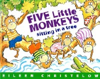Cover Five Little Monkeys Sitting in a Tree (Read-aloud)