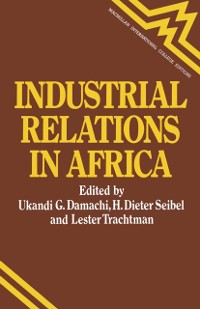 Cover Industrial Relations in Africa
