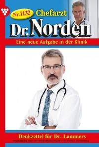 Cover Chefarzt Dr. Norden 1132 – Arztroman