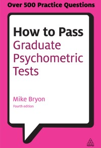 Cover How to Pass Graduate Psychometric Tests