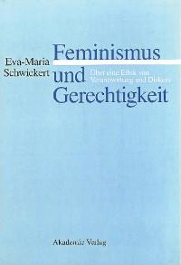 Cover Feminismus und Gerechtigkeit
