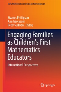 Cover Engaging Families as Children's First Mathematics Educators