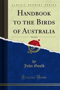 Cover Handbook to the Birds of Australia