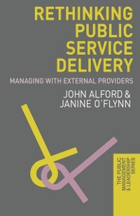 Cover Rethinking Public Service Delivery