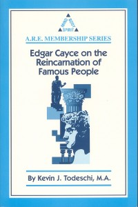 Cover Edgar Cayce on the Reincarnation of Famous People