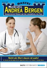 Cover Notärztin Andrea Bergen 1372 - Arztroman