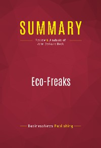 Cover Summary: Eco-Freaks