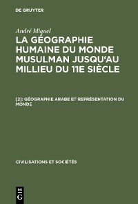 Cover Géographie arabe et représentation du monde