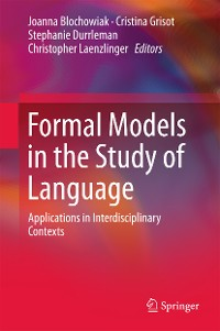 Cover Formal Models in the Study of Language