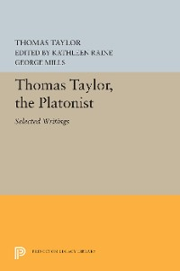 Cover Thomas Taylor, the Platonist