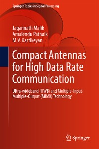 Cover Compact Antennas for High Data Rate Communication