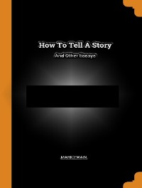Cover How Tell a Story and Others