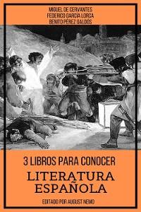 Cover 3 Libros para Conocer Literatura Española