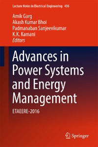Cover Advances in Power Systems and Energy Management