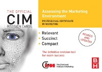 Cover CIM Revision Cards: Assessing the Marketing Environment