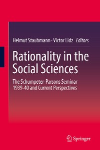 Cover Rationality in the Social Sciences