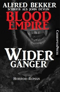 Cover John Devlin, Blood Empire - Widergänger