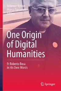 Cover One Origin of Digital Humanities