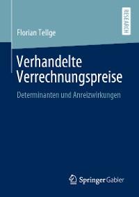 Cover Verhandelte Verrechnungspreise