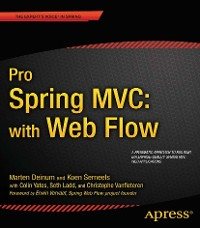 Cover Pro Spring MVC: With Web Flow