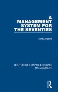 Cover Management System for the Seventies