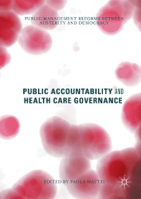 Cover Public Accountability and Health Care Governance