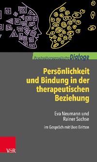 Cover Persönlichkeit und Bindung in der therapeutischen Beziehung