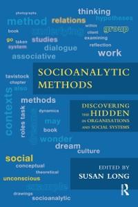 Cover Socioanalytic Methods