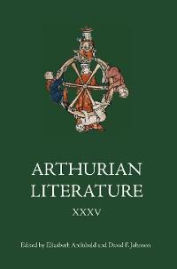 Cover Arthurian Literature XXXV