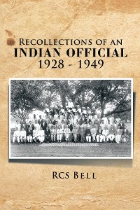 Cover Recollections of an INDIAN OFFICIAL